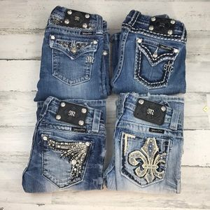 Miss Me boot jeans size 14